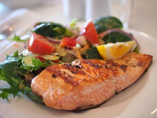 salmon, alimento saludable para el corazon